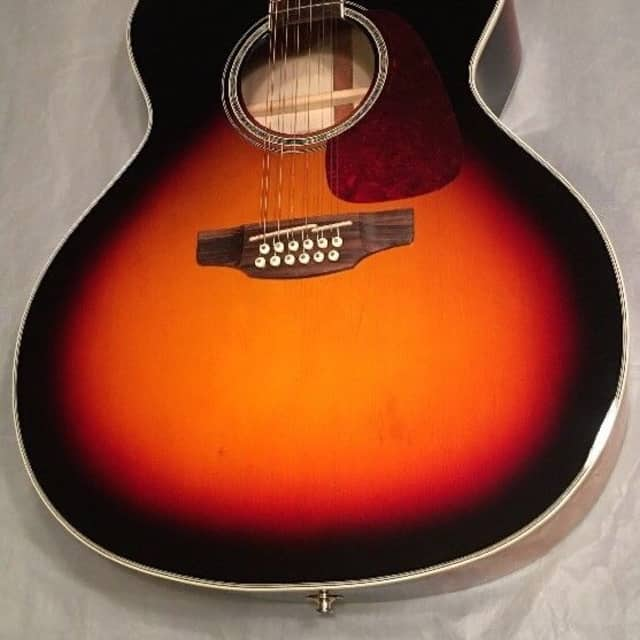 "Takamine GJ72CE-12 ""Sunburst""12 string acoustic electric guitar TK-40D image"