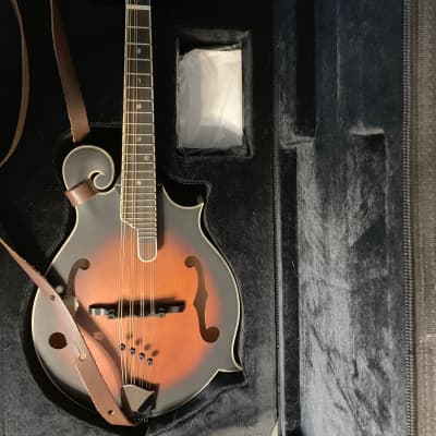 Michael Kelly MKLFP mandolin 2012, tobacco, with soft case and strap. for sale