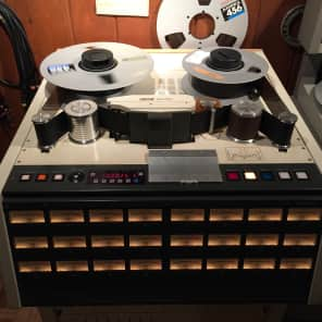 "Otari MX-80 2"" 24-Track Tape Machine with CB-124 Remote Control Unit"