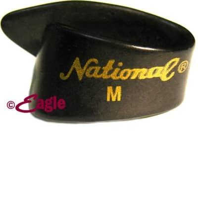 National NP7B Medium Thumb Pick     Black