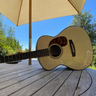 Goodall OM Acoustic Guitar, Quilted Mahogany & Italian Spruce  2019 for sale