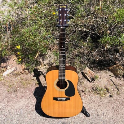 Carlos 238 Dreadnought Acoustic Guitar Made in Korea for sale