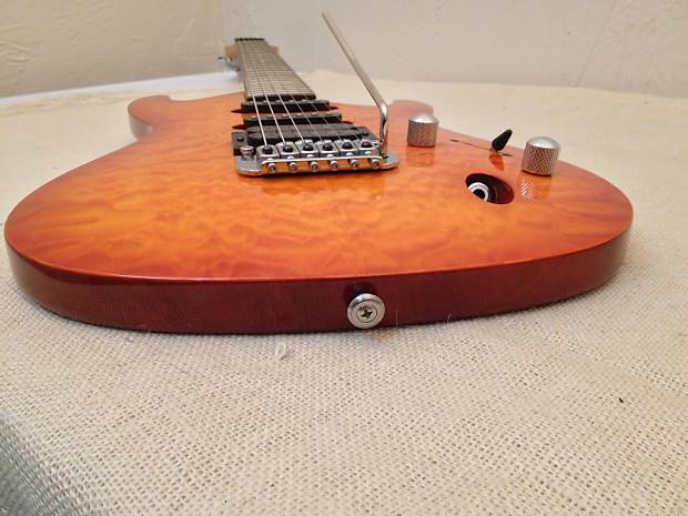 ibanez sa160 qm saber series electric guitar amber stain reverb. Black Bedroom Furniture Sets. Home Design Ideas