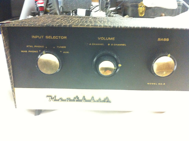 Vintage Heathkit Tube Hifi Amplifier 1960 S Black Amp Reverb