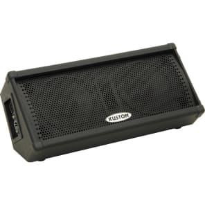 """Kustom KPC210MP Powered Dual 10"""" Monitor Wedge Speaker"""