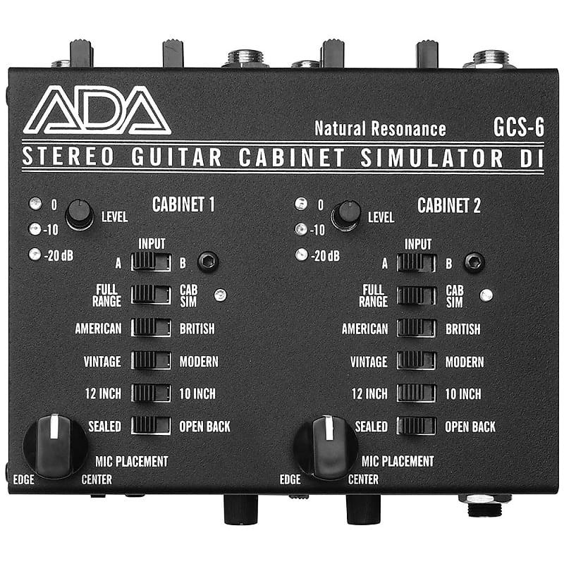 ada gcs 6 stereo guitar power amp speaker cabinet cab reverb. Black Bedroom Furniture Sets. Home Design Ideas