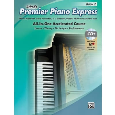 Premier Piano Express: All-In-One Accelerated Course - Book 2 (w/ CD)