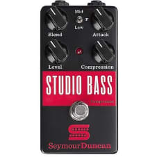 Seymour Duncan Studio Bass Compressor 2016 black