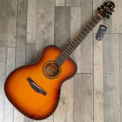 Crafter HT-250/TS Orchestral Steel String Acoustic Guitar, Tobacco Sunburst for sale