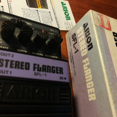 Arion SFL-1 Japan 80s Stereo Flanger With Box for sale