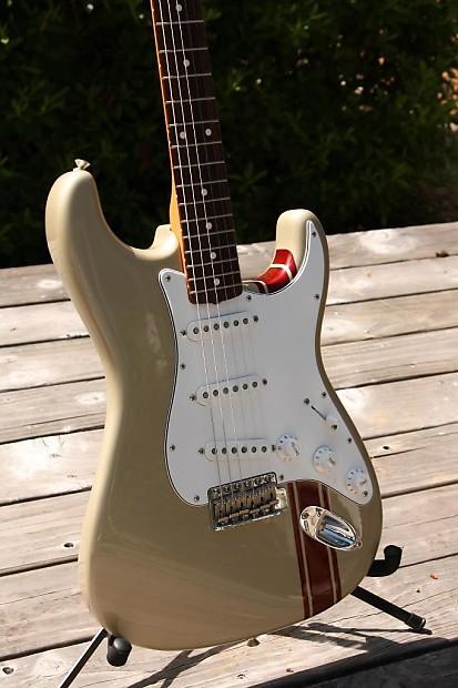 2005 fender john mayer signature stratocaster in shoreline reverb
