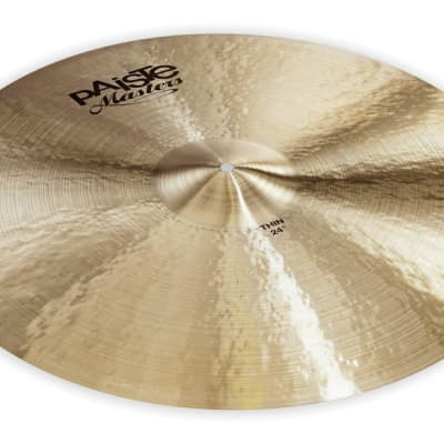 """Paiste Cymbals Masters Thin 24"""" - 697643115606"""