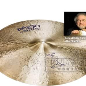"""Paiste Masters Blue Bird Mellow Ride Cymbal 20"""""""