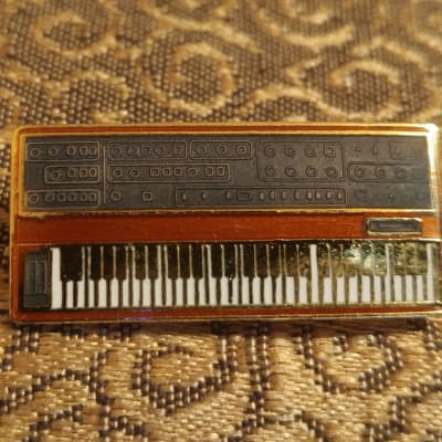 1980s Sequential Circuits Prophet 5 Enamel Cloisonne Pin Super Rare