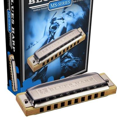 Hohner 532BX-C MS Series Modular Blues Harp Harmonica - Key of C
