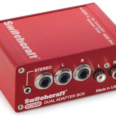 Switchcraft SC600 Dual Adapter Box