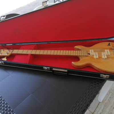Sd Curlee Bass - Made In USA (Precision)  1975/1976 Natural for sale