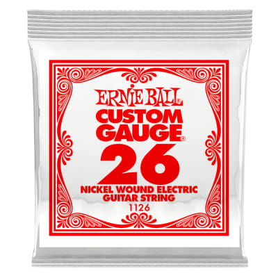 Ernie Ball Nickel Wound .026 Single String