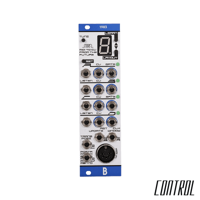 BASTL Instruments 1983 Polyphonic MIDI to CV Interface