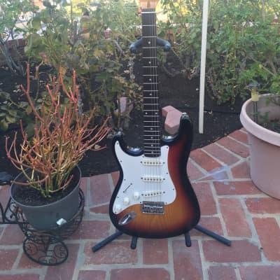 JB Player Stratocaster Sunburst for sale