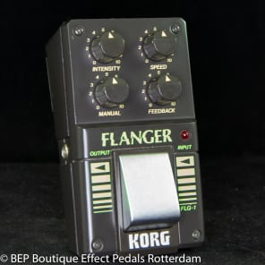 Korg FLG-1 Flanger s/n 004342 early 80's Japan for sale
