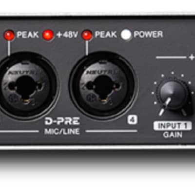 Steinberg UR44 Audio Interface USB 2.0 Audio I/O (6 in / 4 out)