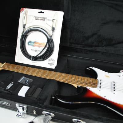 Peavey Raptor Plus Sunburst Electric Guitar Starter Pack for sale