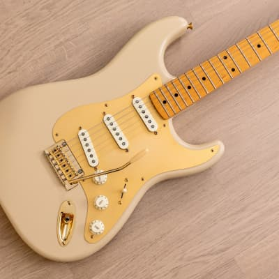 2013 Fender 60th Anniversary Classic Player 50s Stratocaster Desert Sand Lacquer Finish w/ Case for sale