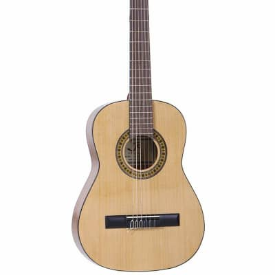 J Reynolds JR12N Student 1/2 Size 34-Inch Nylon 6-String Classical Acoustic Guitar w/Gig Bag -(B-St) for sale