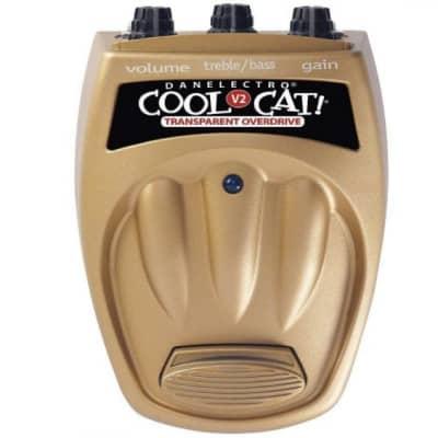 Danelectro Cool Cat Transparent Overdrive CTO-2 V2 for sale