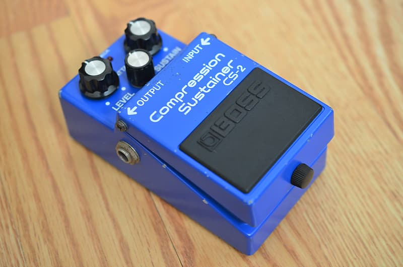 Boss CS-2 Compression Sustainer 1980s Blue | DS Effects