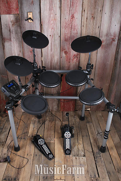 Simmons SD500 Full Size 5 Piece Electronic Drum Kit Complete Set with Cables