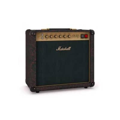 Marshall SC20CSS Limited 20 Watt All Valve Guitar Combo Amplifier Black and Red Snakeskin