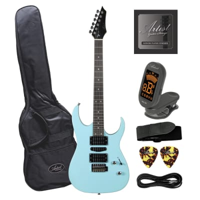Artist AG45 Sonic Blue Electric Guitar Plus Accessories for sale
