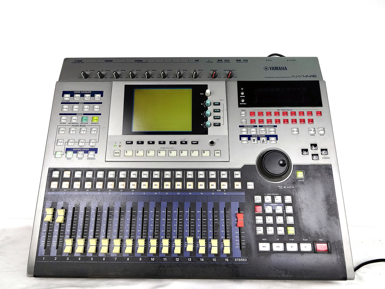 Yamaha aw4416 professional audio workstation 16 track for Yamaha pro audio
