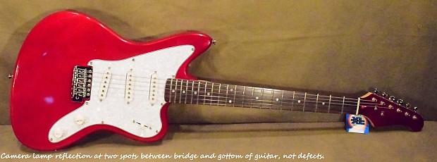 jay turser jt jg vintage series electric guitar candy apple reverb. Black Bedroom Furniture Sets. Home Design Ideas