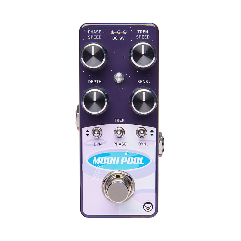 Pigtronix EMTP Moon Pool Dynamic Tremvelope Phaser Micro Effects Pedal