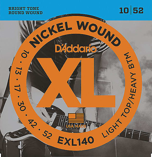 d 39 addario exl140 nickel wound electric guitar strings reverb. Black Bedroom Furniture Sets. Home Design Ideas