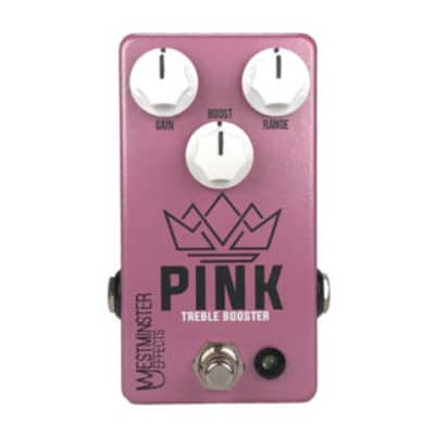 Westminster Effects Pink Treble Booster