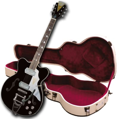 """Kay """"Limited Production"""" K775VBK Reissue Jazz II Electric Guitar-FREE $60 Shipping & $250 Case!"""