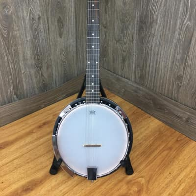 Trinity River Banjo-tar Natural 6 String - Replicate banjo sound playing guitar chords for sale