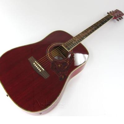 Kona Dreadnought Acoustic/Electric Guitar w/ E.Q. for sale