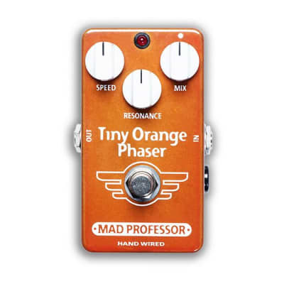 Mad Professor Hand-Wired Tiny Orange Phaser Pedal for sale