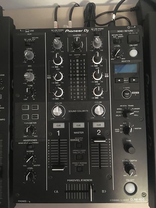 Pioneer DJM-450 2-Channel DJ Mixer | Taylor Pierce | Reverb