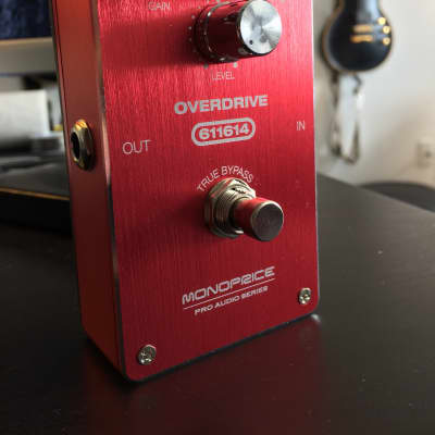 Monoprice 611614 Overdrive Pedal for sale