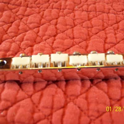 Gibson ABR-1 Tuneomatic Bridge 1969 chrome # 6