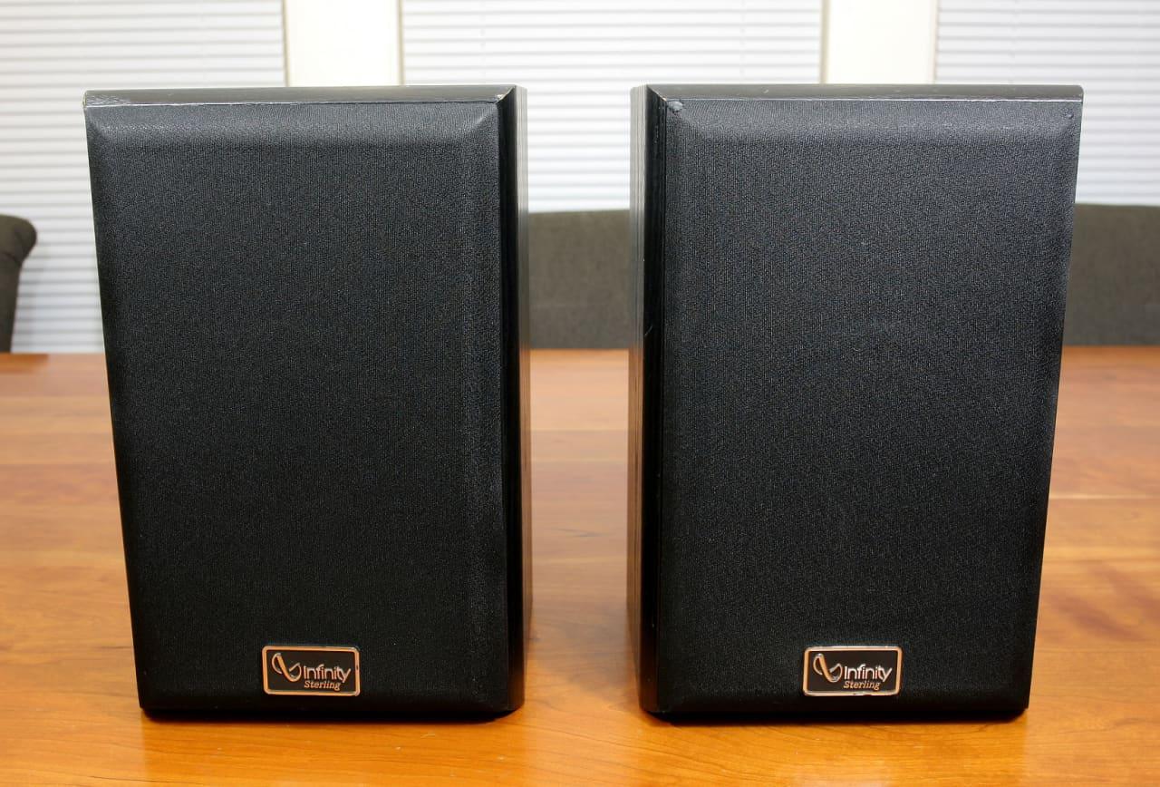 Infinity Sterling Series Ss 2001 2 Way Bookshelf Speakers