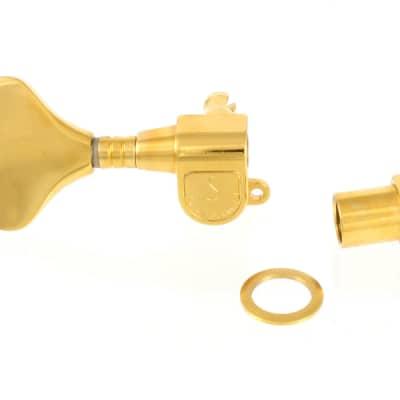 TK-8931-L02 Schaller M4 Gold Left-Handed Treble Side Old Style Bass Tuner for sale