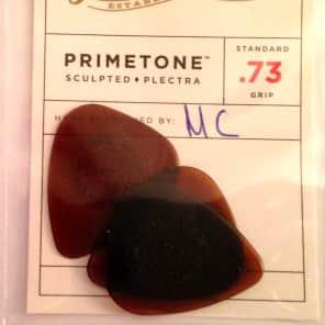 Dunlop Guitar Picks | 3 Pack | Primetone Standard | Hand Sculpted | multiple thicknesses - .73mm