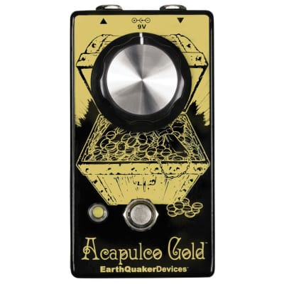 New EarthQuaker Devices Acapulco Gold Power Amp Distortion V2